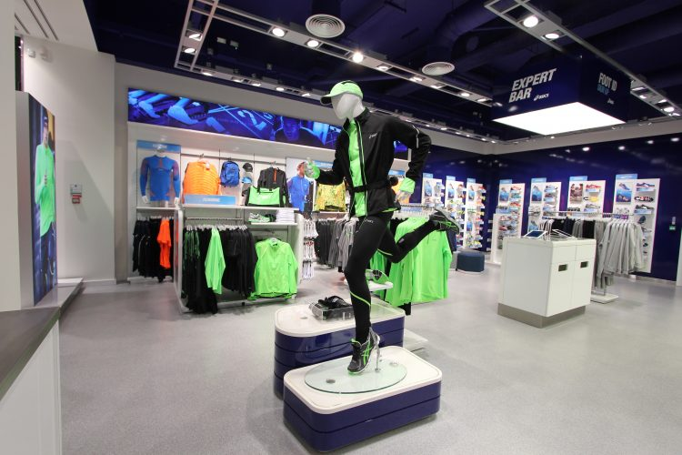 Manufacture and fit out for ASICS