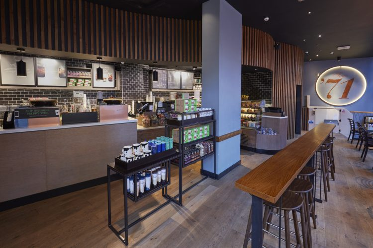 Starbucks fit out